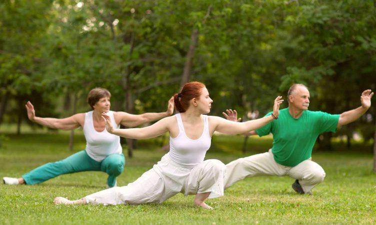 расслабление и йога